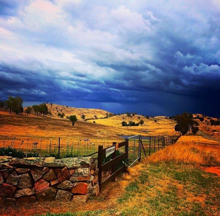 'Moorabinda Huts' a tranquil escape