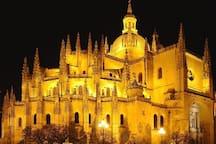 Catedral iluminada