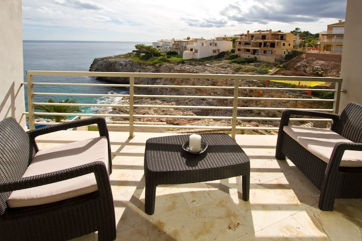 Magrana - Beachfront apartment - Cala Magrana - Lägenhet