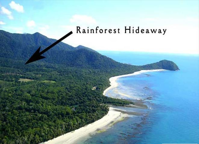Rainforest Hideaway - Cape Tribulation - Penzion (B&B)