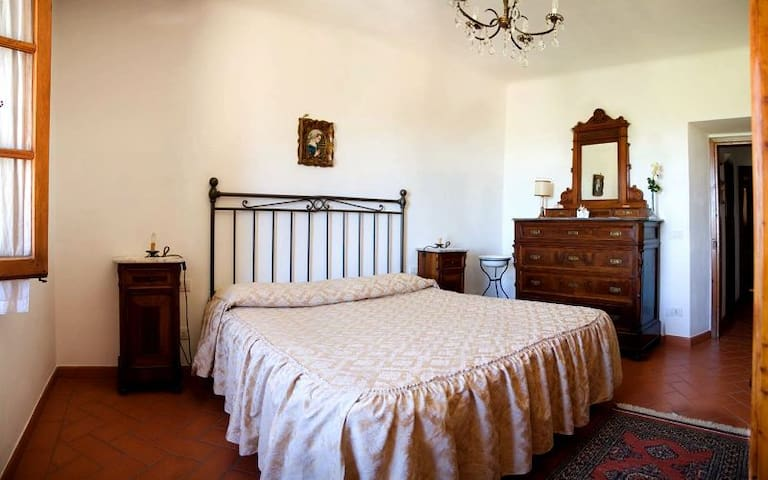 In Chianti, really PRIVATE SW-POOL!, Wifi, Parking - San Casciano in Val di pesa - Apartment