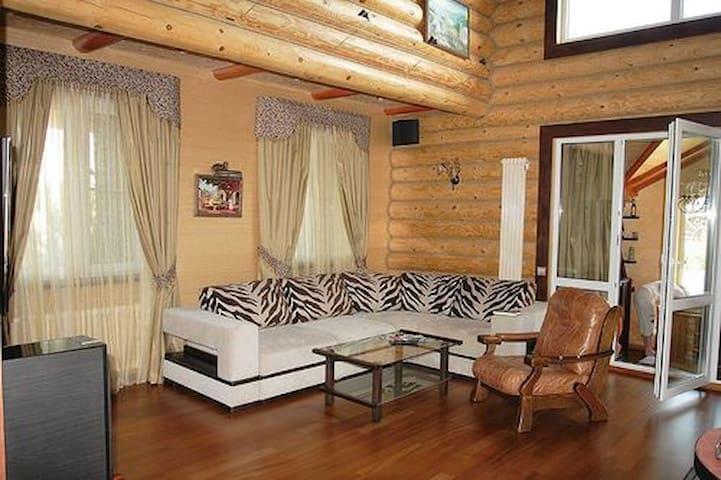 двухэтажный дом, с ванной комнатой - Belavka - Hus