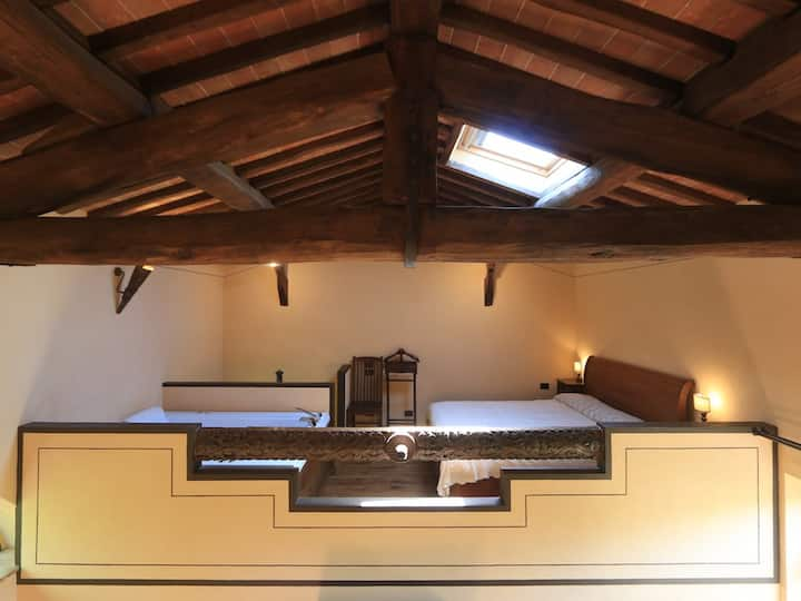 THREE LEVELS LOFT IN SIENA