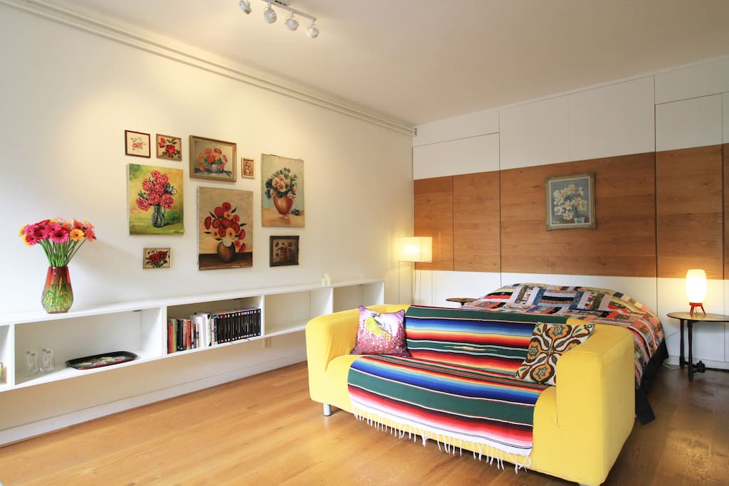 Amsterdam centre studio sarphati maisons louer amsterdam noord holland pays bas - Chambre a louer amsterdam ...