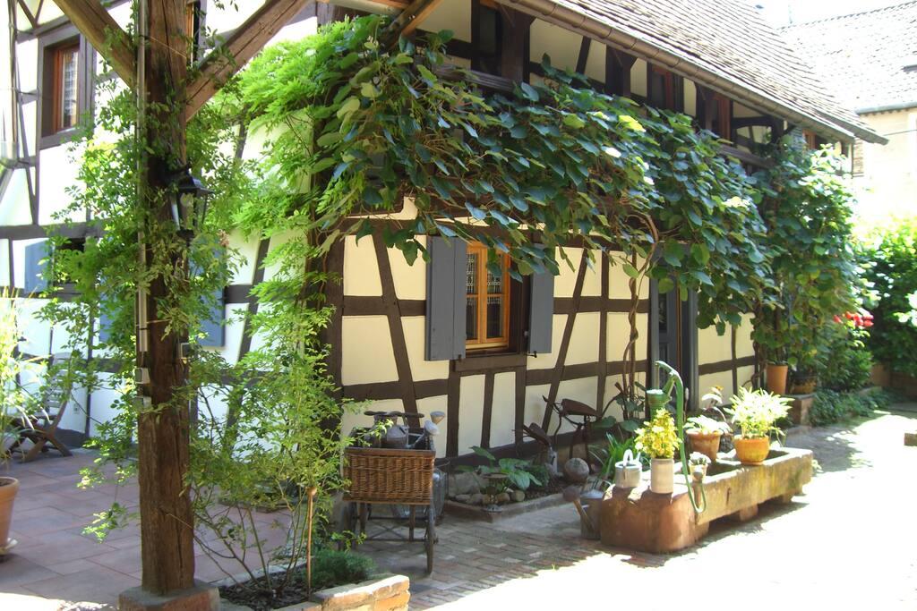 Extérieur maison d'hôtes / The guest house, outdoor