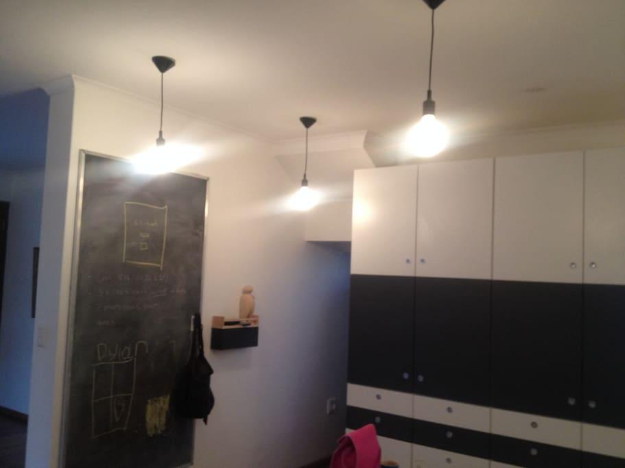 Modern kitchen - well lit