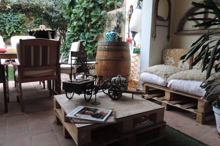 Habitación en un lugar con encanto! - Huis
