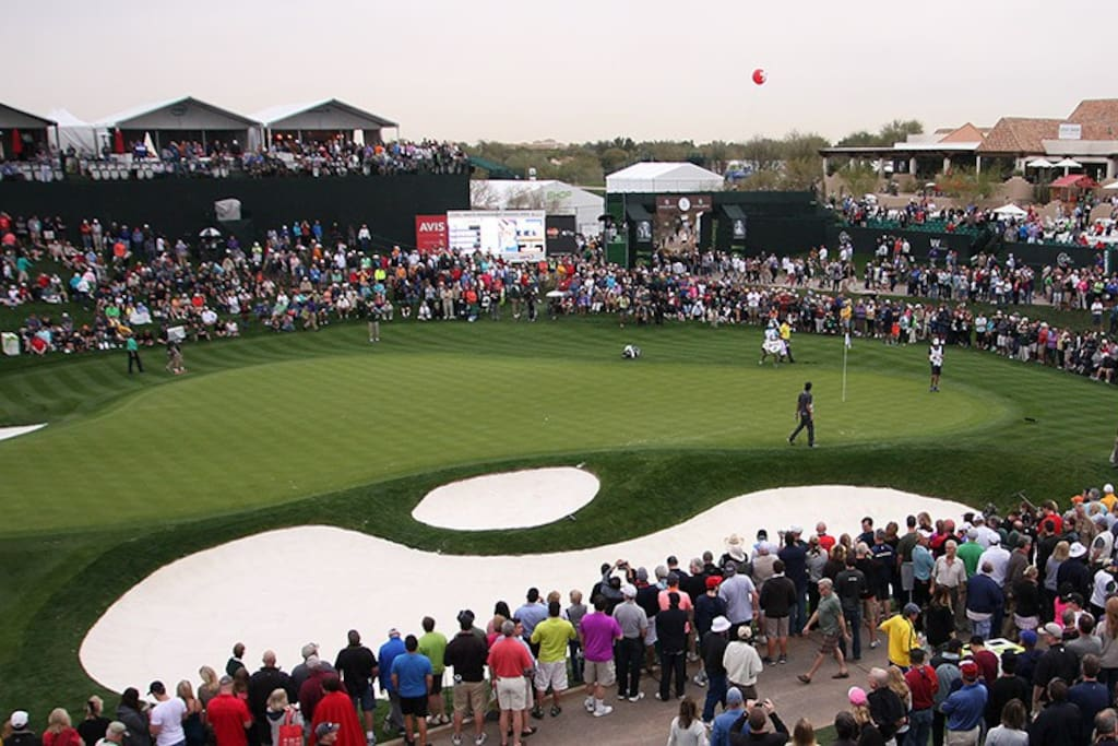 15-Minute Walk to Phoenix Open Entrance