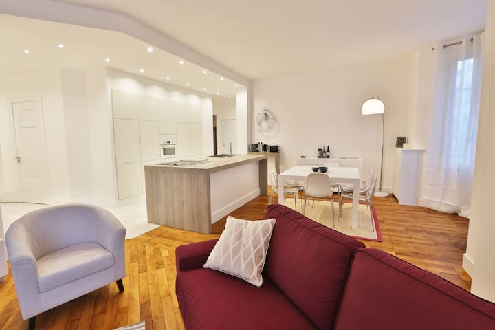 LUXURIOUS APPARTMENT DOWNTOWN LYON 6 pers