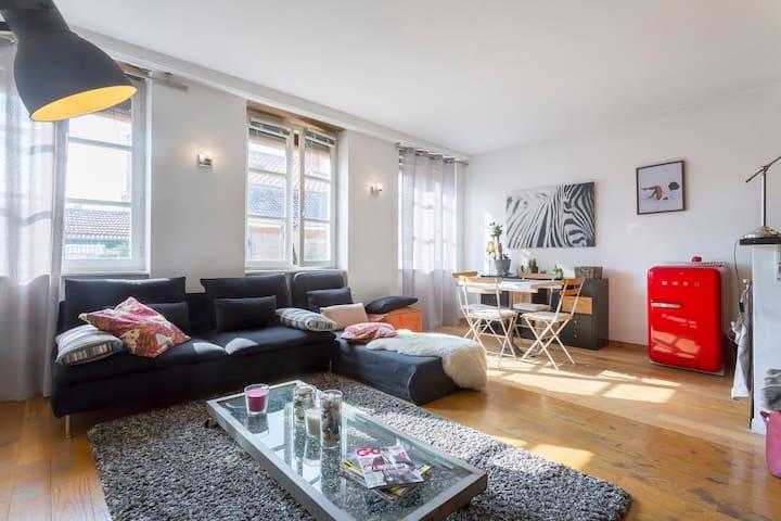 Chaleureux, idéal pour un couple - Lyon - House