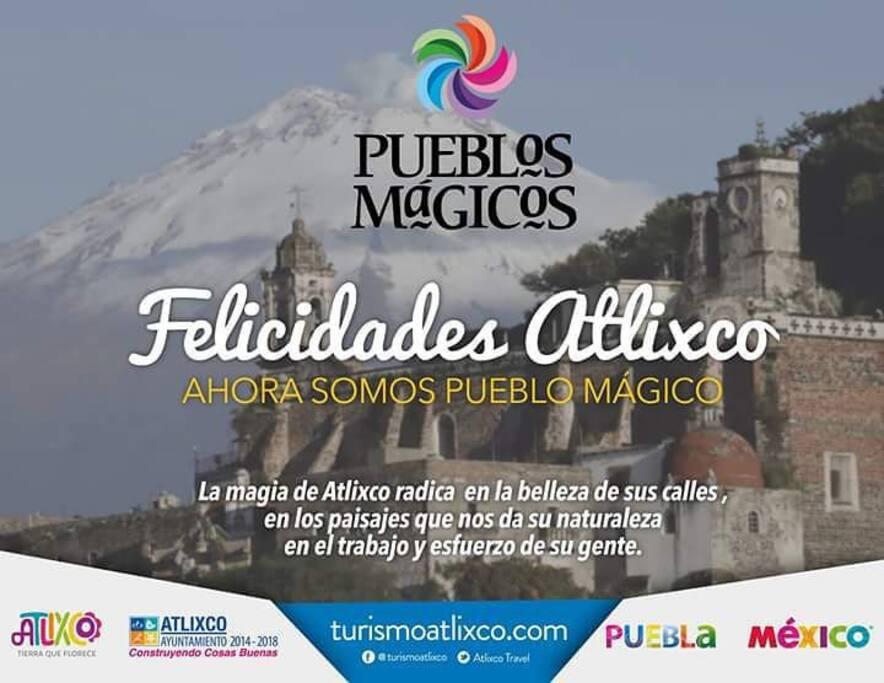 """Atlixco ha recibido la denominación de """"Pueblo Mágico"""""""