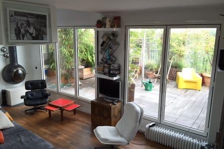 Design Loft facing Vincennes Wood - Charenton-le-Pont