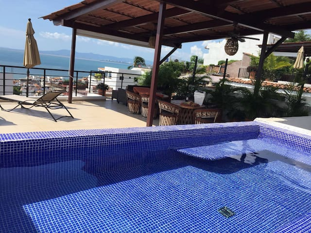 BEAUTIFULL PENTHOUSE IN DOWNTOWN - Puerto Vallarta - Apartamento
