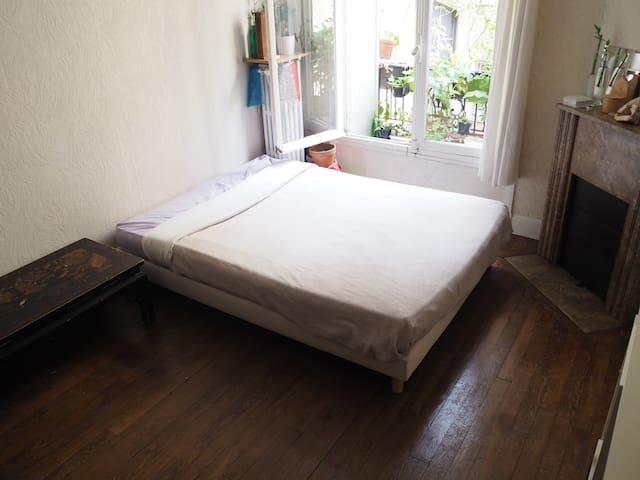 Nice classic Parisian apartment