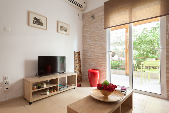 Athens flat 120m metro 3 bedrooms - Αθήνα - アパート