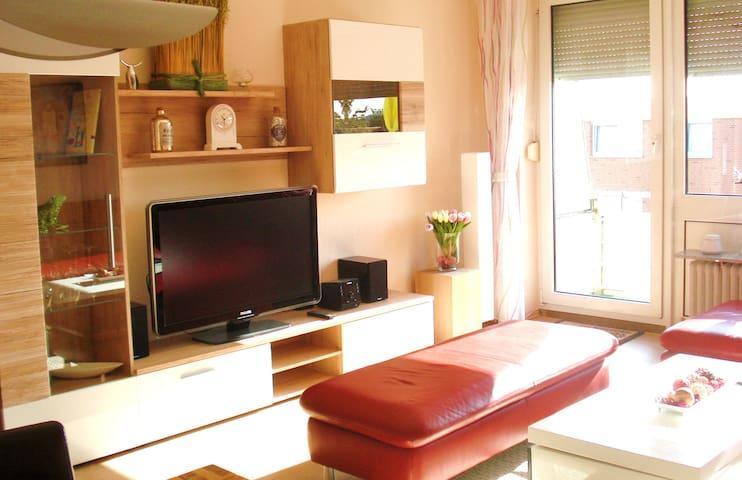 Helle Wohnung im Süden Hamburgs