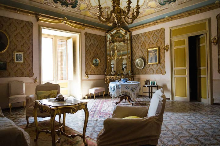 Charming historical house - Santa Caterina Villarmosa - Villa