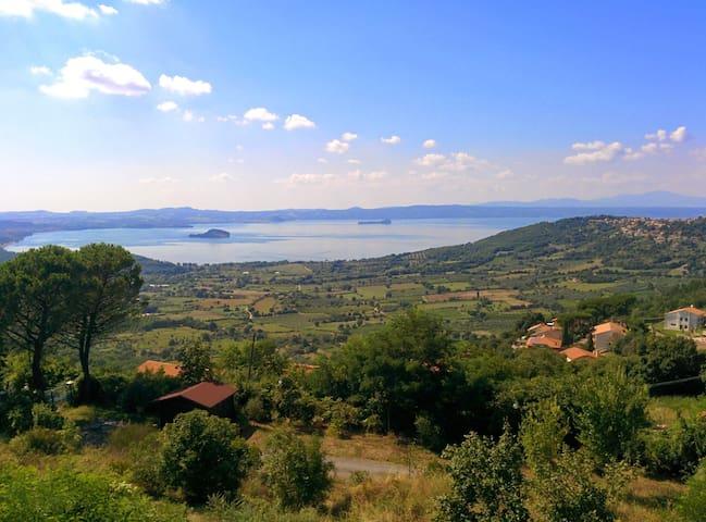 Lago!!!natura, sentieri, sport - Montefiascone - Apartamento
