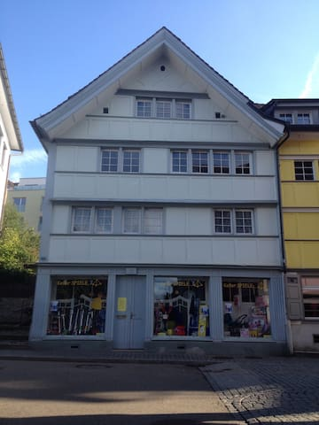 Zentral mit Garten - Herisau - House