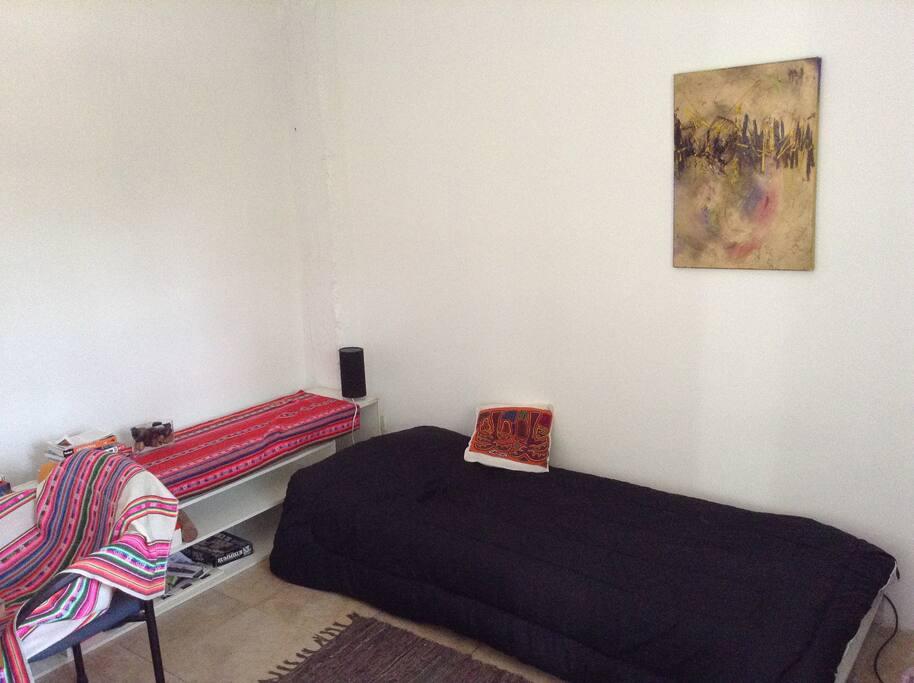 dormitorio para 1 ó 2 personas