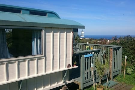 St. Ives: The Original Shepherd Hut - Cornwall - Skjul