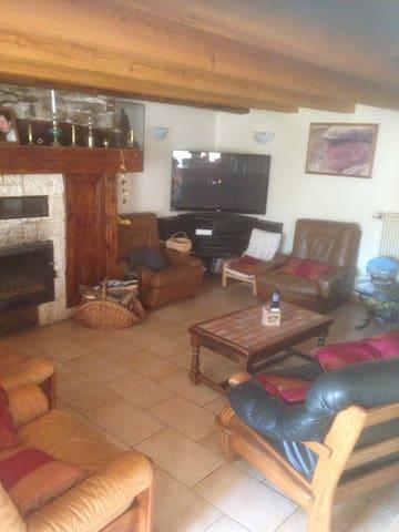 Gîte la cabane - Égliseneuve-d'Entraigues - Dom