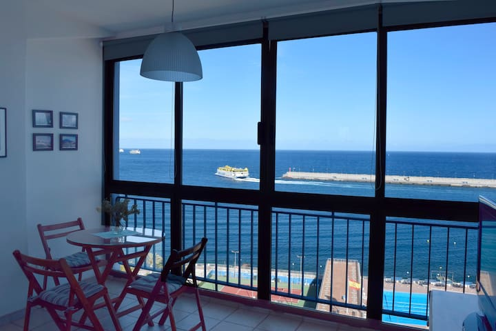 Nice apartment. Seaviews. - Santa Creu de Tenerife - Pis