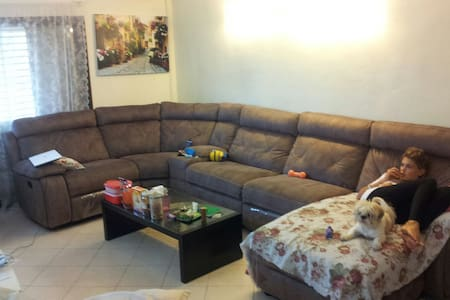 6 Comfortable  room with a garden - Alfei Menashe - Casa