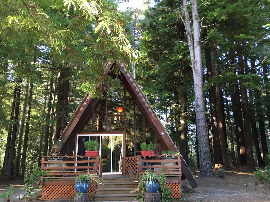 A Frame On The Mendocino Coast Cabins For Rent In Fort