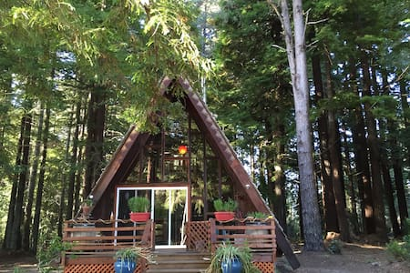 A-Frame On The Mendocino Coast - Fort Bragg - Ξυλόσπιτο