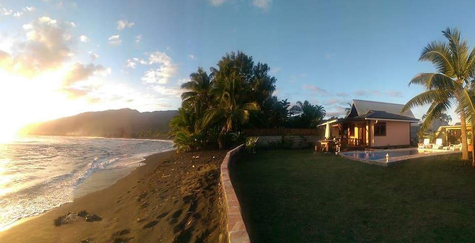 Tahiti Surf Beach Paradise TEMOE - Papara