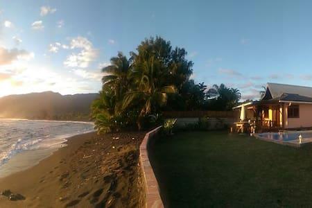 Tahiti Surf Beach Paradise TEMOE - Papara - Bungalow