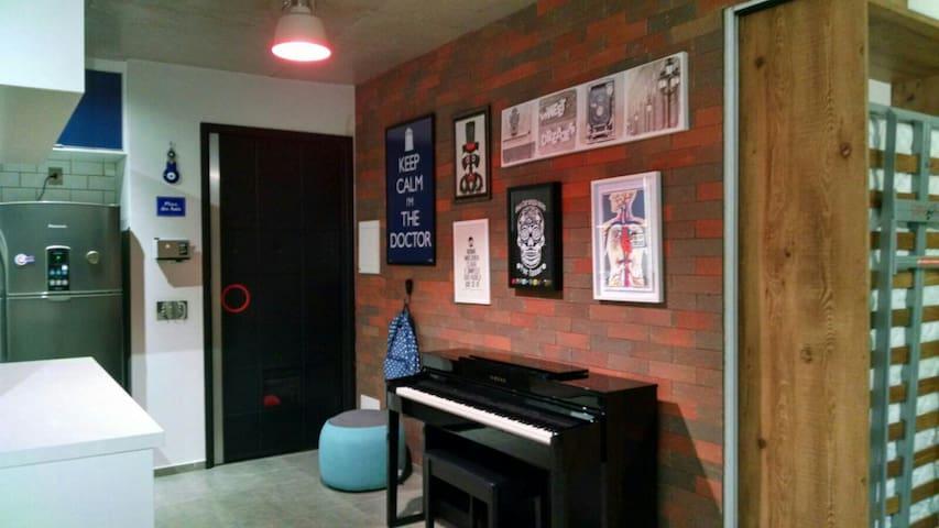 Home Office - Mooca - 300m do Metrô - São Paulo - Lägenhet
