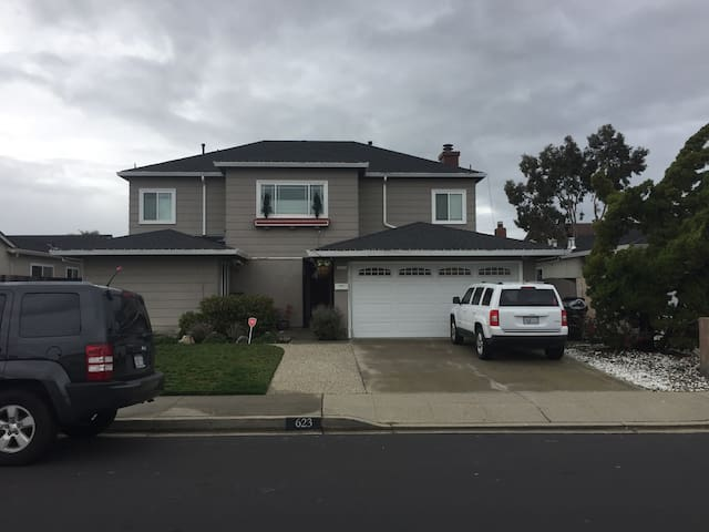 Huge SF Bay Area home available in June! - Foster City - Casa