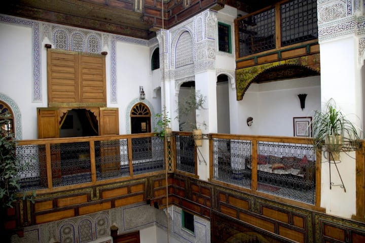 Beautiful Riad in the Médina of Fez