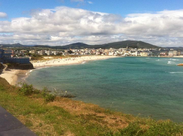 Urbanización a 100 m. de la playa