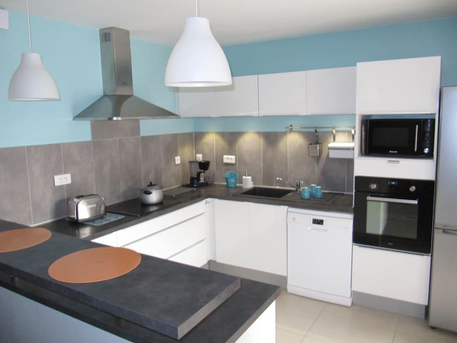 cuisine intégrée moderne