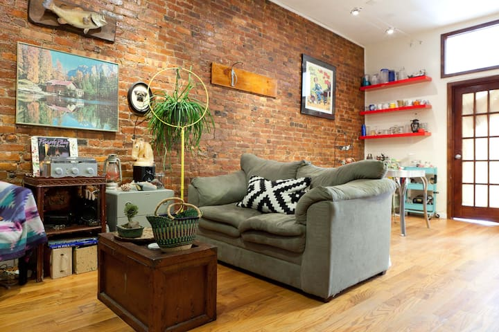 Bed-Stuy Gem with Private Entrance