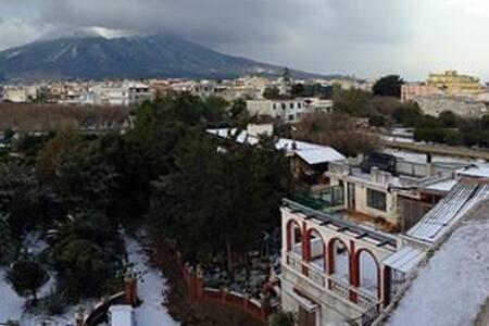 Mt Vesuvius terraced flat - Terzigno - Apartemen