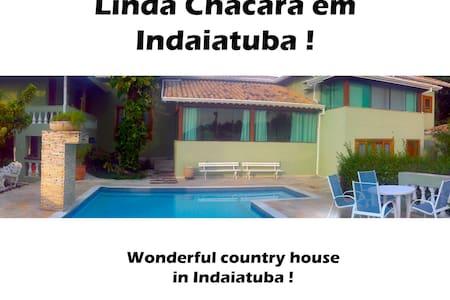 Linda Chácara (Quarto C) - Indaiatuba