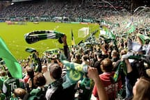 The electrifying energy of a home Portland Timber's game is only a one mile walk.