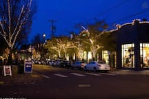 The beautiful NW 23rd at night