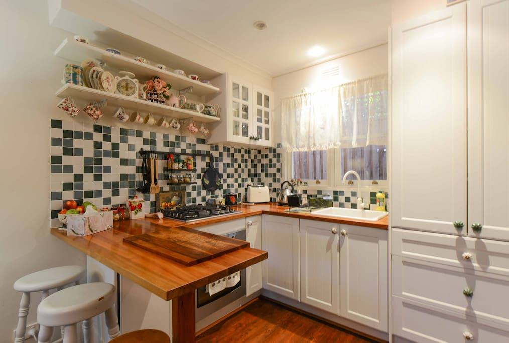 A French Provincial kitchen