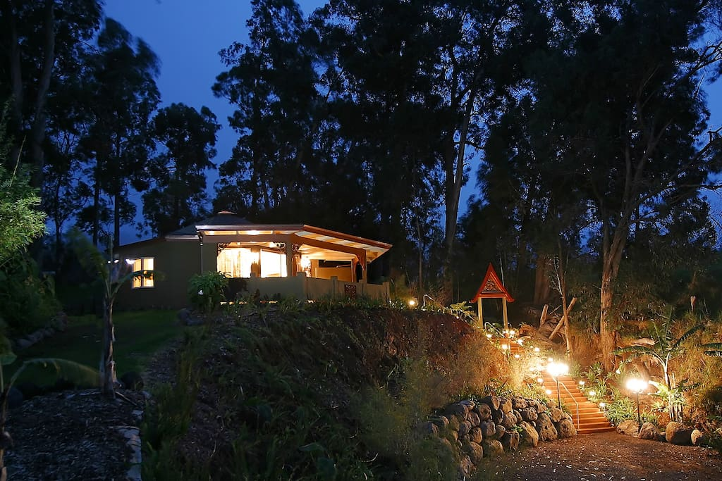 Starry cool nights and total seclusion... perfect for a romantic retreat!