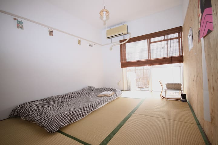 Bright Tatami room near Kichijyouji - Nerima-ku - Apartment