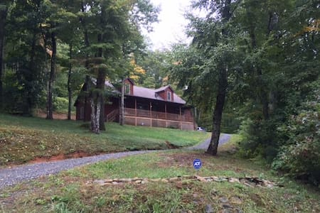 Gorgeous Secluded Log Cabin 20 Minutes from Boone - Fleetwood - Kulübe