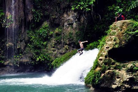 Full Canyoneering Tour Package - Alegría - Kabin
