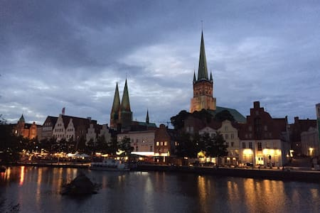 ..the middle of the heart of Lübeck