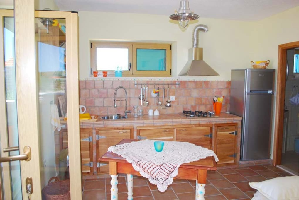 Fully equipied kitchen