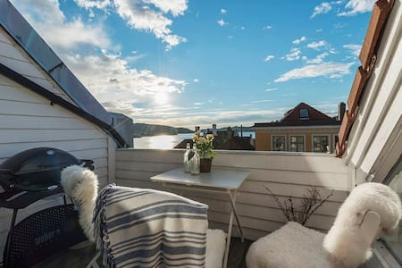 Penthouse in popular neighbourhood - Bergen